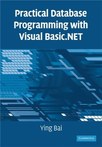 [PDF] Practical Database Programming with Visual Basic.NET Free Download