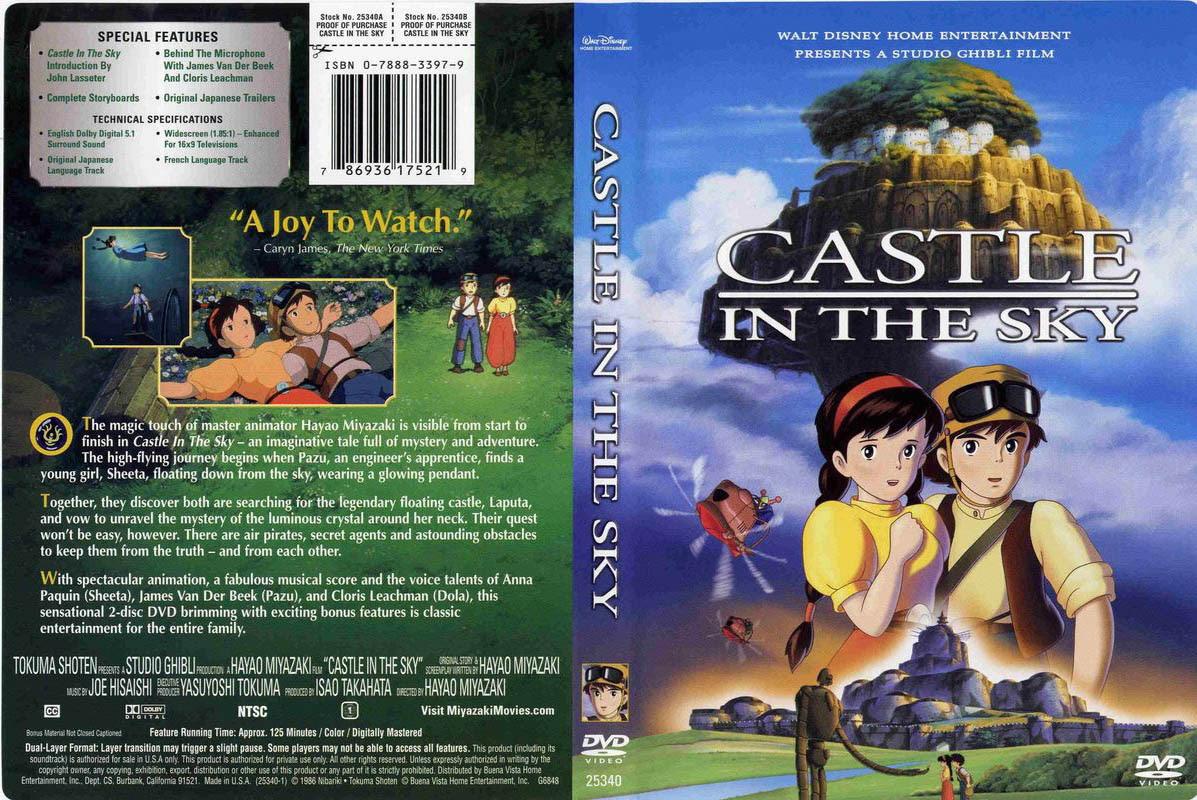 Laputa Castle In The Sky Released