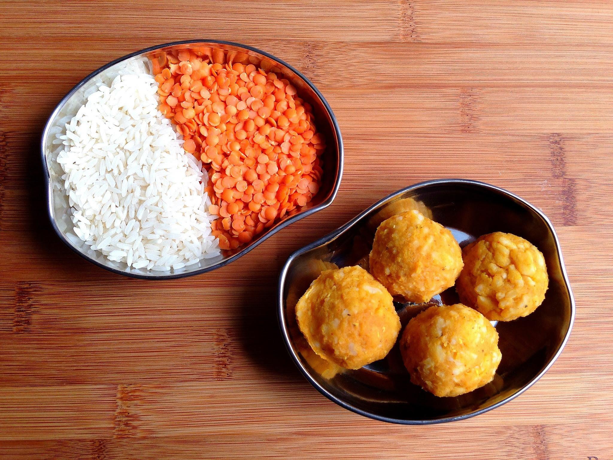 Indian Recipe for Kids: Soft Lentil & Rice Balls | Big ...