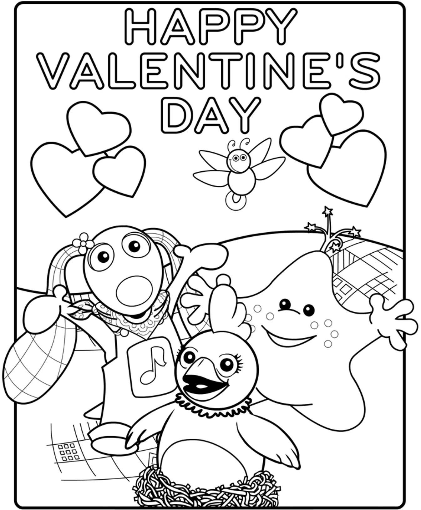 Valentine Coloring Pages Pdf at GetColorings.com | Free ...
