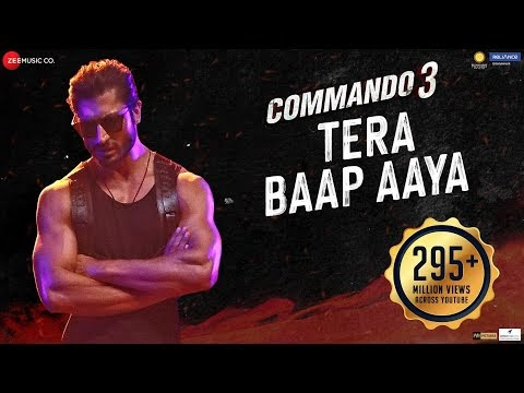 Tera Baap Aaya Lyrics Download Full Song - Commando 3 | Vidyut Jammwal | Farhad B