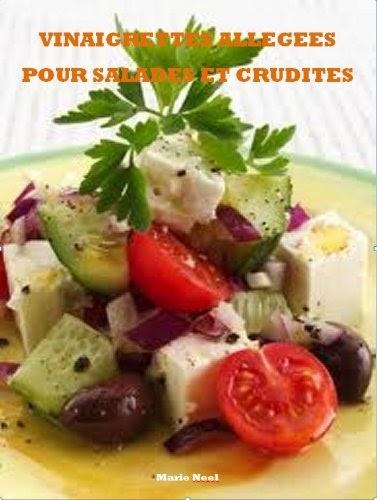 vinaigrettes allges pour salades et crudits