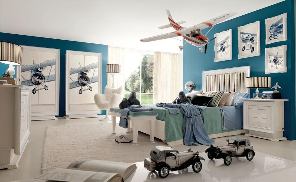 Boys' Room Designs: