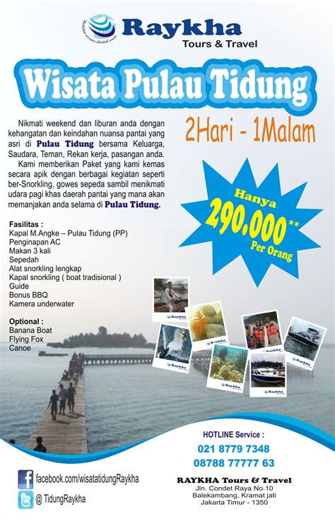 contoh brosur wisata contoh