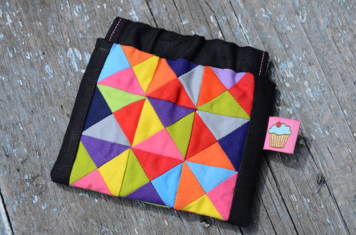 Snap frame pouch by Poppyprint