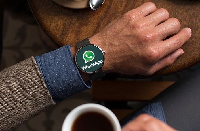 WhatsApp no relógio?