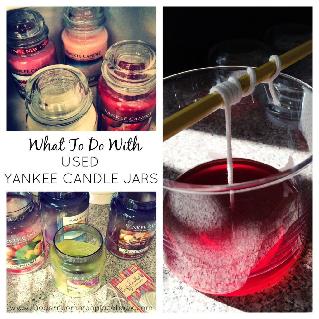 What to do with Used Yankee Candle Jars | A Modern ...