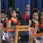 Pastor é acusado de assediar Ariana Grande a apalpando em funeral de Aretha  Franklin  assista 91c6ae023b6