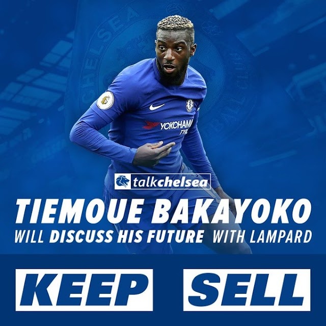 Tiemoue Bakayoko of Chelsea emerges as target for Manchester United
