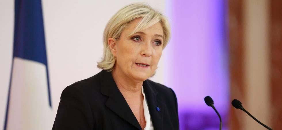 Marine Le Pen, candidata a la presidencia francesa por el Frente Nacional