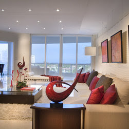 Miami Modern Daybed Design Ideas, Pictures, Remodel and Decor