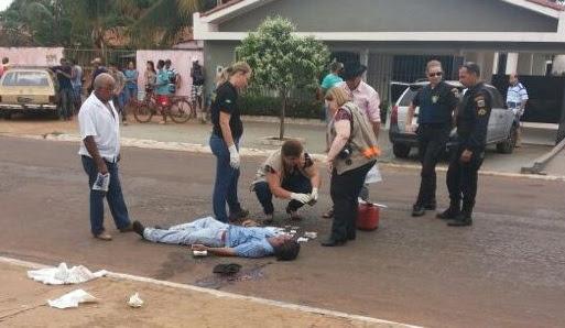Homicídio registrado na Vila Itamaraty na tarde do último domingo (27) - Foto: Arquivo/GazetaMT
