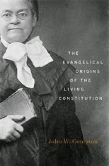 Cover for The Evangelical Origins of the Living Constitution