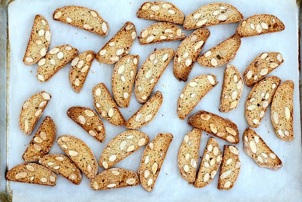 Cantuccini - Almond Biscotti