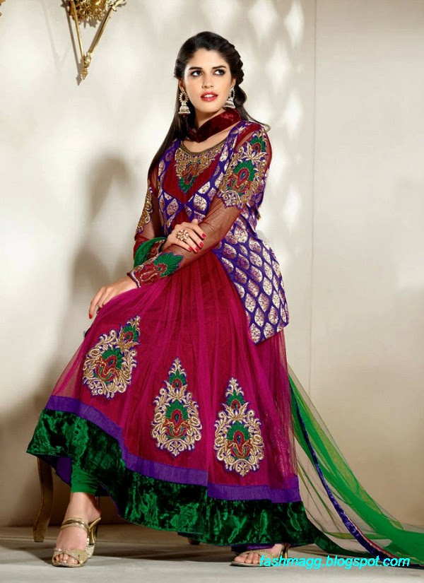 Fashion Amp Style Indian Anarkali Frocks Springs Summer