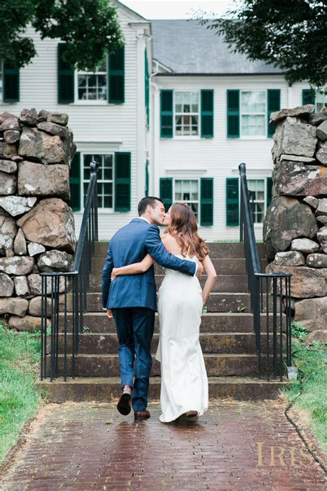 Hill Stead Museum Wedding Farmington CT: Halley and Mike