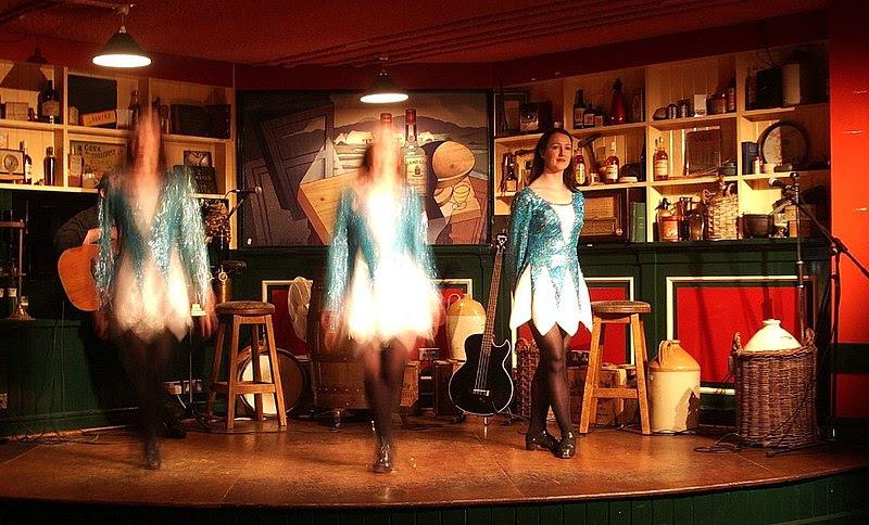 Irish girl step dancing