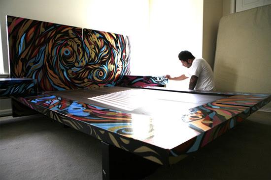 Reyes Graffiti Bedroom Design | Senses Lost