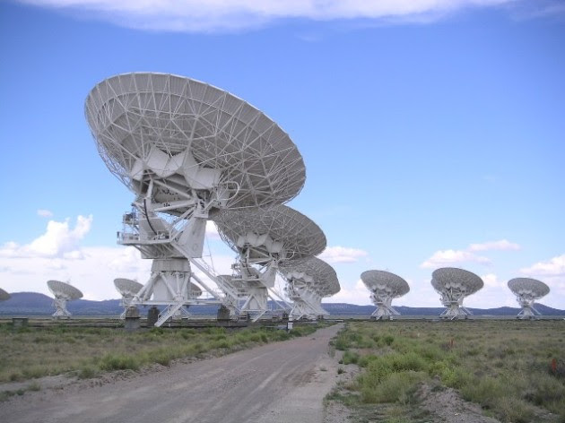The Very Large Array radio telescope