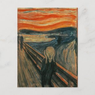 The Scream by Edvard Munch Post Card