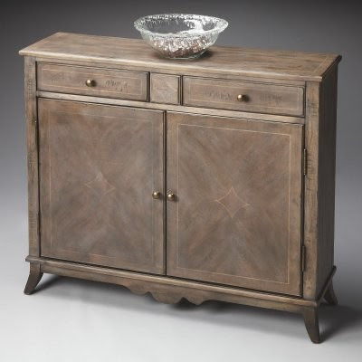Butler Console Cabinet - Dusty-trail - modern - bathroom vanities ...