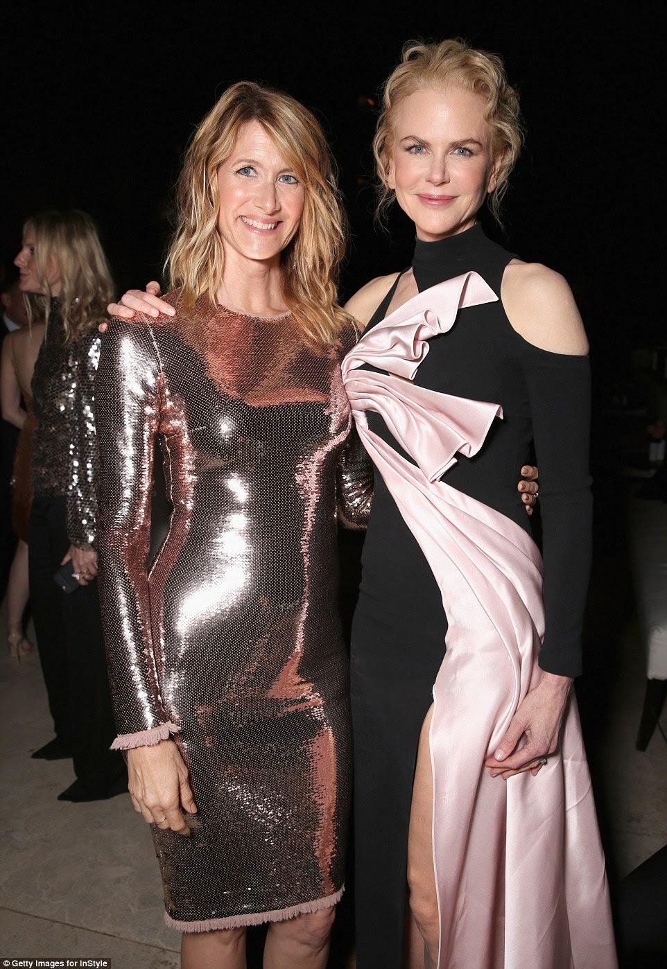 Ageless: Laura e companheiro atriz Nicole compartilhada uma imagem bonita