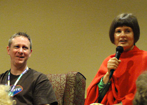 Alan and Sophie Aldred Saturday