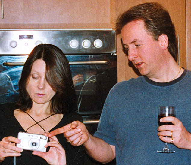 Banker Neil Ellerbeck and wife Kate are photographed at a party. Mr Ellerbeck was jailed in 2009 after being found guilty of her manslaughter