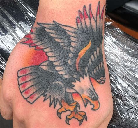 amazing eagle hand tattoo designs ideas petpress