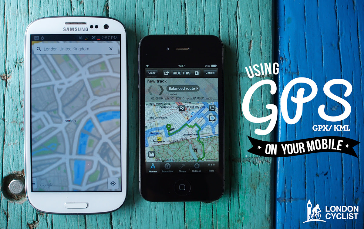 Using Gps Cycle Routes On Your Android Or Iphone