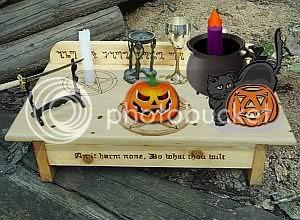 Altar de Halloween