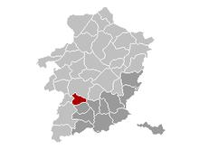 Vị trí của Alken in Limburg