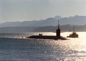 Ударная атомная подлодка ВМС США вошла в Индийский океан