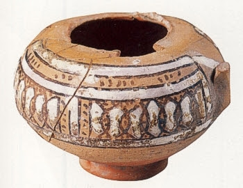 Vaso del XII secolo