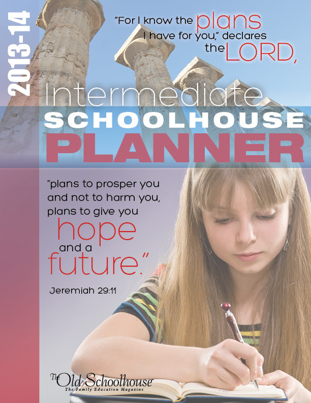 Schoolhouse Teachers Intermediate Student Planner