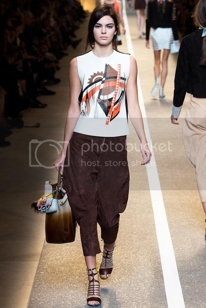 Kendall Jenner  Fendi Spring 2015 Milan Fashion Week photo Fendi-Spring-2015-Milan-Fashion-Week-kendall-jenner.jpg