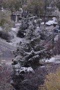 Foto: Emergencias avisa de posibles nevadas en la sierra de hasta 5 centímetros de espesor (EUROPA PRESS)