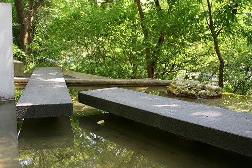Garden on Turtle Creek the bridge