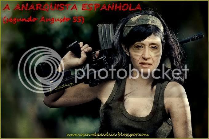 ANARQUISTA ESPANHOLA segundo Augusto SS