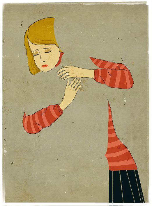 divorce Illustrations by Emiliano Ponzi