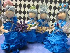Ice Tree Queen Ornament Dolls! 17