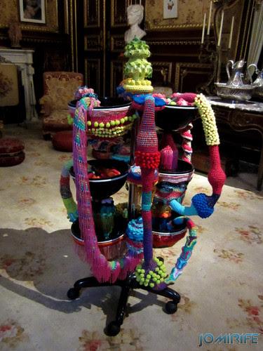Joana Vasconcelos - Tropicália 2013 aka Taças e formas de lã [EN] Tropicália - Bowls and shapes of wool