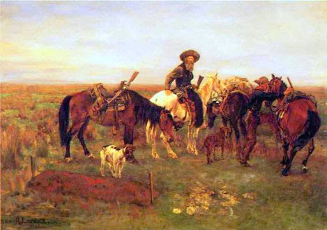 Burial On The Plains