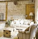 Country Style Living room with Proper Planning / Pictures Photos ...