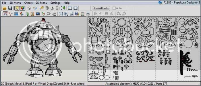 photo robot.pepakura.papercraft.via.papermau.001_zpskasownhu.jpg