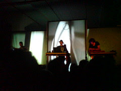 "German DJ band ""Moderat"""