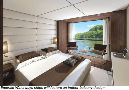 Emerald Waterways Indoor Balcony design