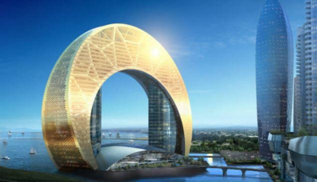 Brilhante futuro: Crescent City é apenas um dos projetos que estão transformando e Baku no Azerbaijão