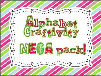 alphabet craftivity