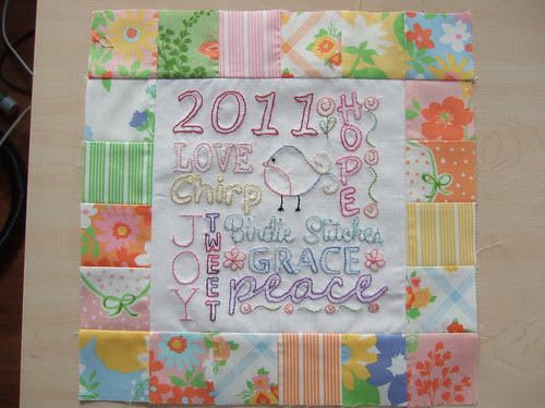 Birdie Stitches June